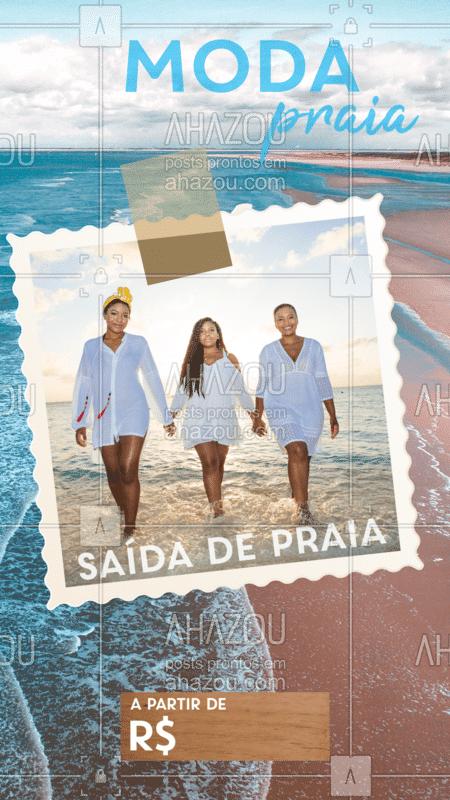 Venha escolher sua saída de praia preferida para ahazar na praia nesse verão!  #moda #ahazou #praia #acessorio #verão