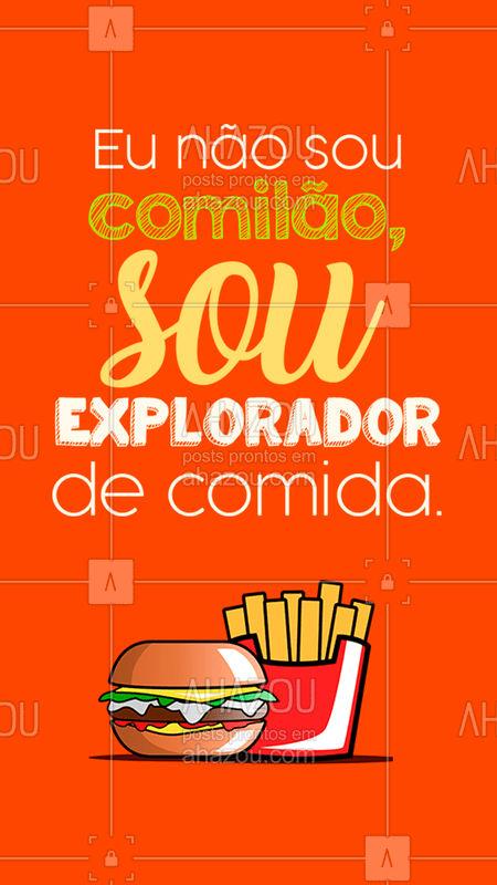 Quem mais se identifica?? ??? #burger #ahazou #comida #bandbeauty