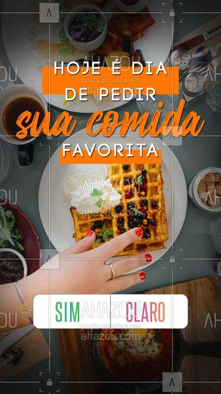 Qual seu voto? Sim ou claro? ❤️ #gastronomia #ahazoutaste #simouclaro