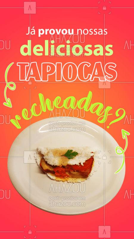 Todos os dias temos deliciosas tapiocas recheadas feitas com muito amor e carinho para você! ??#TapiocasRecheadas #Tapiocas #ahazoutaste  #fit #ilovefood #instafood
