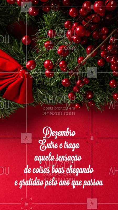 Amo esse mês! ?❤️ #dezembro #natal #ahazou #amo #beleza
