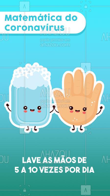 ⚠ Lavar as mãos é uma poderosa ferramente para combater essa doença.Também é recomendável lavar as mãos sempre que voltar da rua ou quando usar um transporte público.   Fonte: https://www.youtube.com/watch?v=G1LoovRQQS4&feature=youtu.be  #saude #covid-19 #corona #coronavirus #ahazousaude