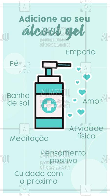 É hora de pausar, cuidar de nós e cuidar do outro: fique em casa! Tenha fé e esperança que os dias melhores estão chegando. ? #positividade #ahazou #coronavirus #covid19 #quarentena