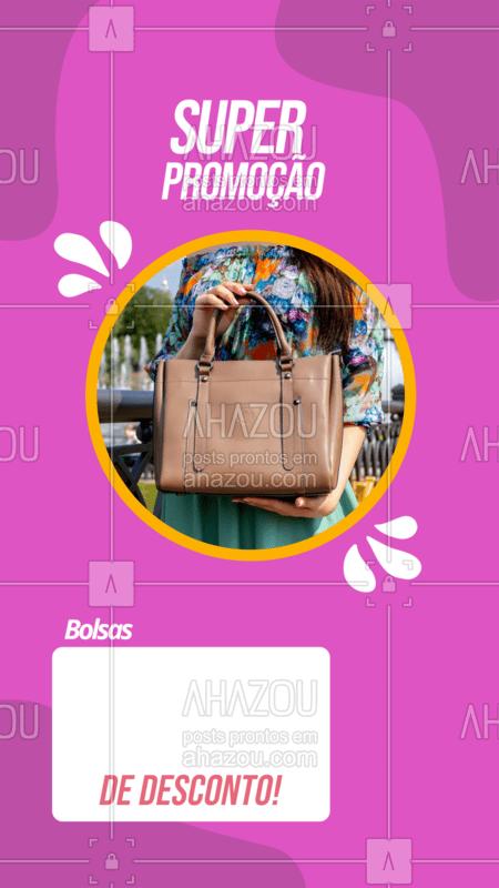 Você não pode ficar de fora dessa super promoção! ??? #desconto #ahazoufashion #moda