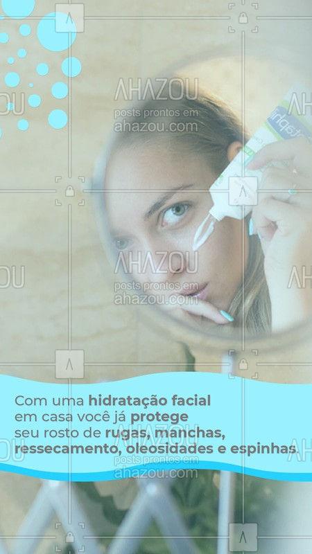 Um bom creme durante o dia, com fator de proteção solar e um a noite já ajudam a ter um rosto mais tratado mesmo sem ajuda profissional. É preciso dedicação e força de vontade. Escolha o creme facial de acordo com seu tipo de pele e com seu tratamento preferido, rugas, acne, manchas etc. Veja nosso catálogo virtual e peça seu kit de tratamento facial em casa. Whatsapp #ahazou #tratamentofacial #rosto #cremetratamento #cremedia #cremenoite