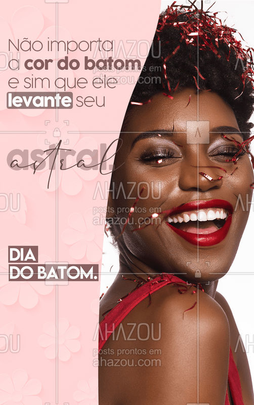 Um batom alegra o dia de qualquer mulher. ❤❤?? #beauty #beleza #AhazouBeauty #AhazouBeauty #ahazouavon #ahazourevenda #ahazouamakha #ahazouabelharainha #ahazouboticario #ahazoucontem1g #ahazoueudora #ahazouhinode #ahazoujafra #ahazoujequiti #ahazoumahogany #ahazoumarykay #AhazouNatura #ahazoujoge