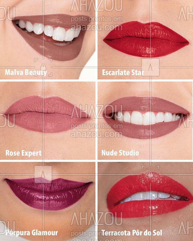 É promo que você quer? Então aproveite: o Lip Tint está com 25% de desconto nessas cores incríveis, com uma super novidade - o tom exclusivo Terracota Pôr do Sol! Cada unidade sai de R$ 39,99 por apenas R$ 29,99. É a sua chance de garantir o batom 2 em 1 com cor intensa e efeito glossy, que é tendência do verão. Ele não borra, não transfere e e fixa por até 12 horas. ❤ #EudoraLipTint #Eudora #ahazoueudora #ChegaLáeEudora #BlackWeekEudora