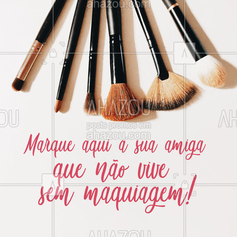 Marque ela aqui embaixo! ?#maquiagem #makeup #ahazou #beleza