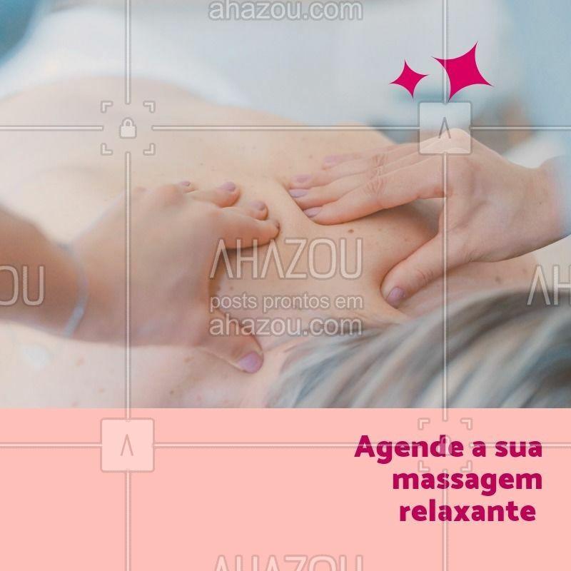 Temos duas opções: 30 minutos ou 1 hora. Ligue agora para agendar o seu horário. #massagem #ahazou #relaxante