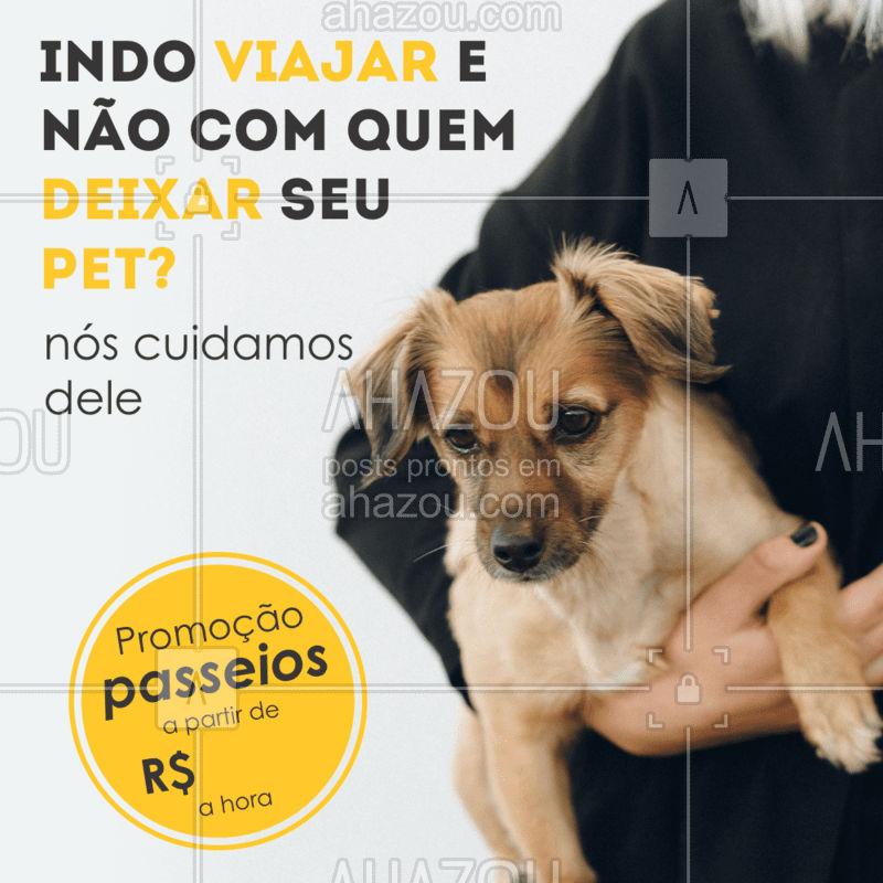Não deixe seu pet sem o passeio diário dele, nós cuidamos disso pra você enquanto viaja, aproveite nossa promoção! Entre em contato para saber mais informações ? #AhazouPet  #dogwalkersofinstagram #doglover #dogwalker