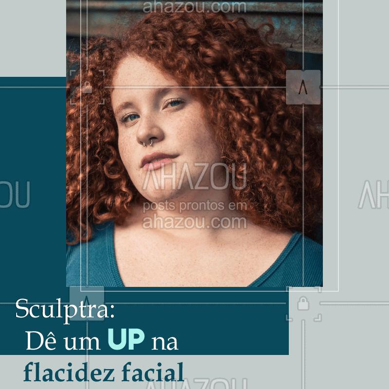 ? Vamos falar sobre um dos tratamentos que estimulam a produção de colágeno: o Sculptra. ⠀ ⠀ O ácido poli-L-áctico-utilizado no procedimento é uma substancia inteiramente absorvida pelo organismo ao longo do tempo, ou seja, é ultra seguro! Como é um estimulador de colágeno, ele atua de forma eficaz na flacidez da face e do corpo, promovendo uma pele mais saudável, firme e de aspecto mais jovem. ?✨⠀ ⠀ ? O Sculptrapode ser aplicado no rosto e pescoço, além de ter efeitos excelentes para braços, glúteos e coxas.⠀  Agende sua sessão! #sculptra #estetica #esteticafacial #ahazou #braziliangal #tratamento
