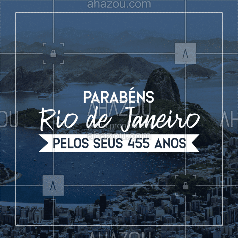 Parabéns Rio de Janeiro pelos 455 anos de emancipação. ?? #riodejaneiro #ahazou #rio #parabénsrio