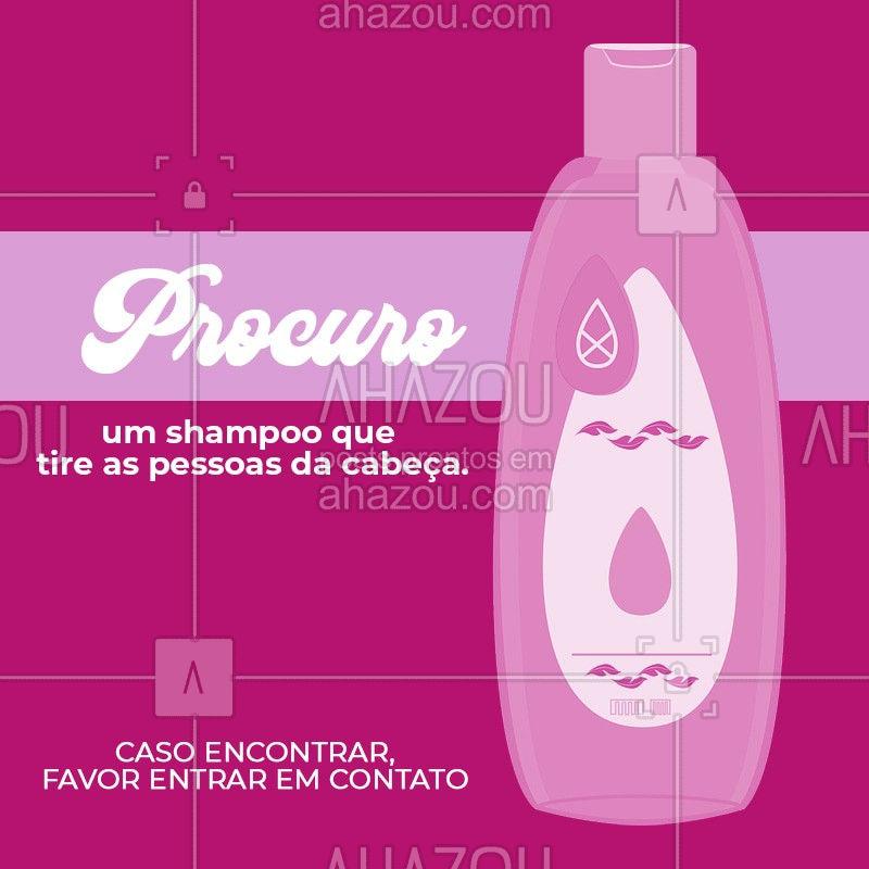 Ando procurando há um bom tempo esse shampoo milagroso, alguém sabe onde posso encontrar? #cabelos #engraçado #shampoo #ahazoucabelos #ahazou