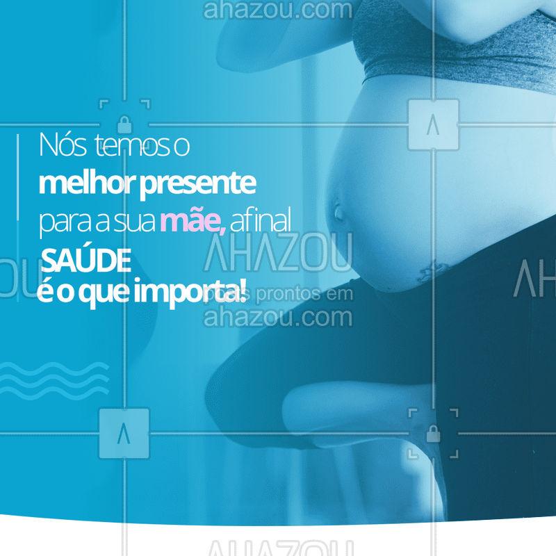 Garanta o melhor presente para a sua mãe! Ela merece esse cuidado super especial! ? #fisioterapia #ahazou #saude #bemestar