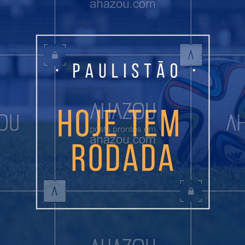 Chama os amigos e vem assistir a rodada do Paulistão no bar! #paulistao #ahazou #ahazouapp #futebol #amigos #torcida
