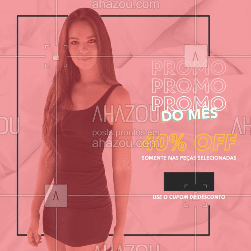 Sabe aquela promoçãozinha que amamos? Ta rolando, corre pro site e aproveite!  #moda #ahazou #roupa #promoção #online