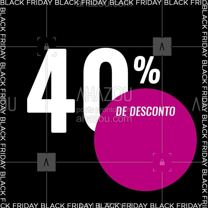 Aproveite nossa super promoção da Black Friday! Corre para não perder! #blackfriday #bf #promoção #blackband #ahazou
