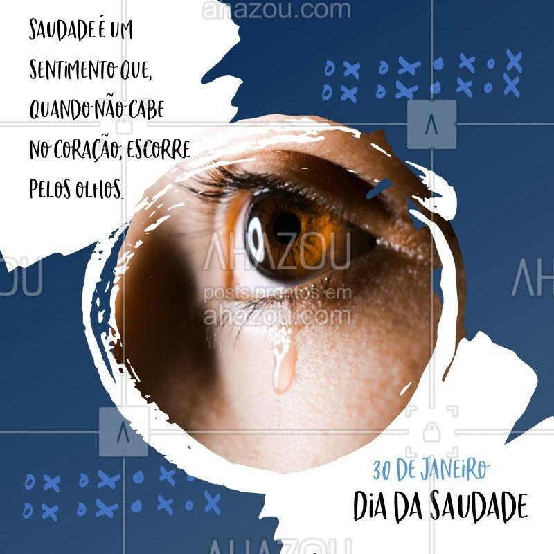 Você também se emociona quando lembra de alguém? ? #diadasaudade #ahazou #saudade #amigos #friends #saudadesdomeuamor #love