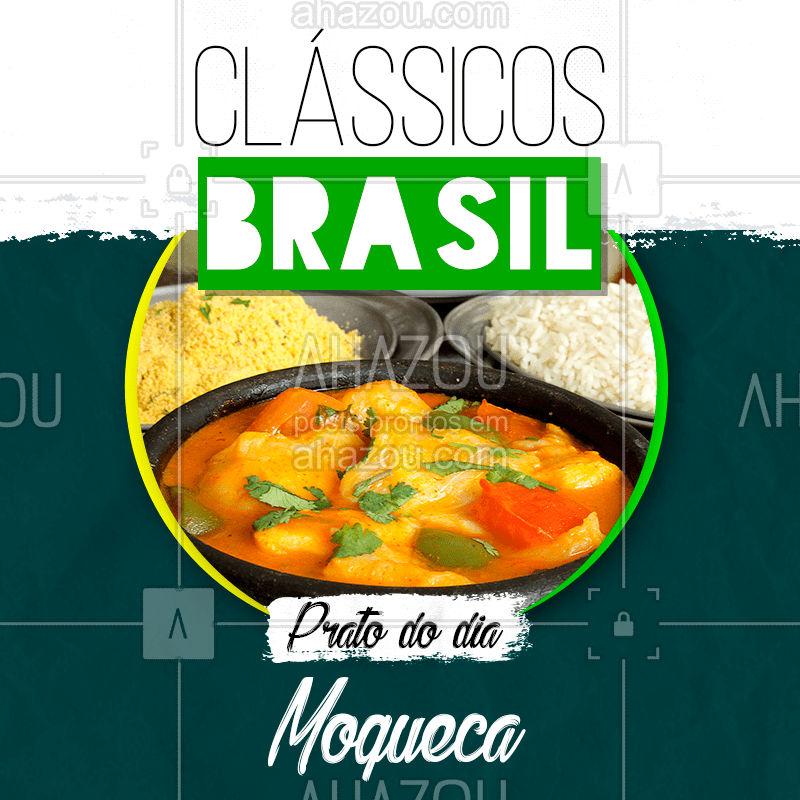 Hoje é dia desse clássico brasileiro que a gente tanto ama ??   Vem se deliciar ? #comidabrasileira #classicos #moqueca #brasil #ahazoutaste #bandbeauty