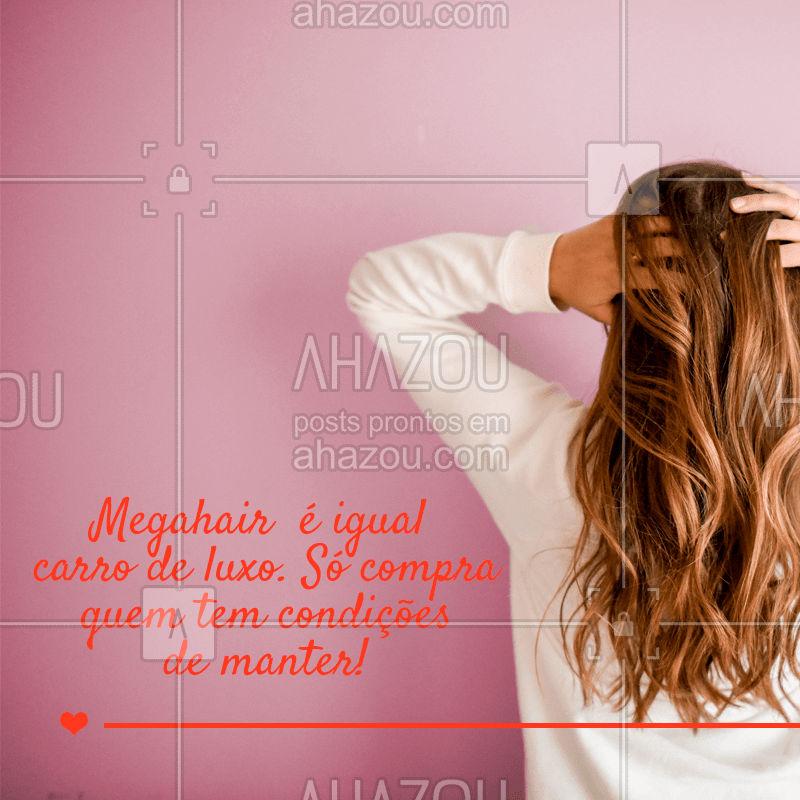 Quem concorda?  ? #megahair #ahazou #cabelo #diva