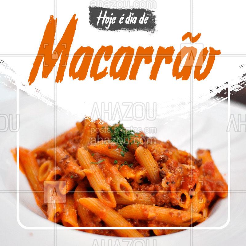 Nosso prato de hoje é um delicioso macarrão ?  Vem almoçar com a gente ?   #macarrao #pratofeito #pratododia #pf #ahazoutaste #bandbeauty