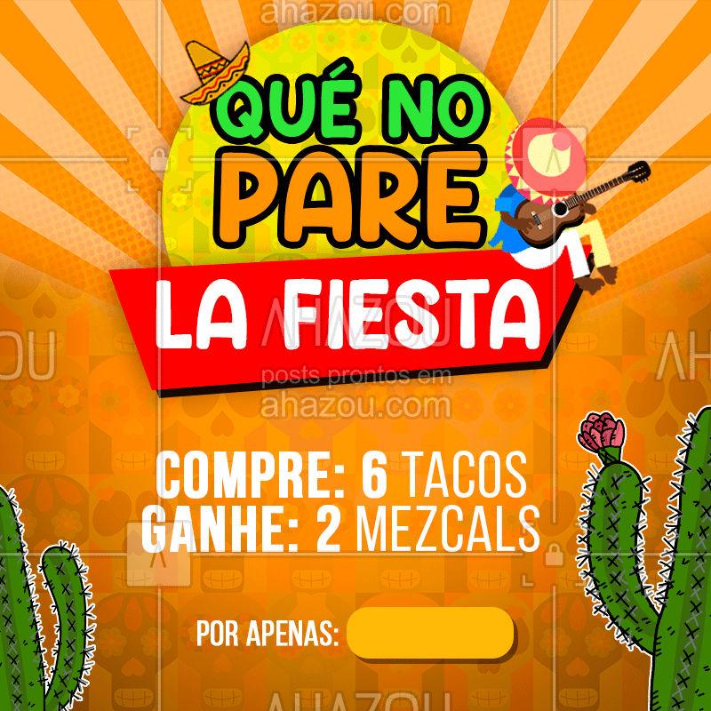 Tudo certo para o date de hoje? ?️?? #comidamexicana  #mexico  #gastronomia  #mexicano  #mexican #ahazou