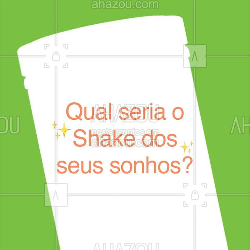 Nós já temos tantos sabores deliciosos de Shake que fica até difícil escolher o favorito! Mas, se você pudesse criar um novo sabor, qual seria? ?  #herbalife #ahazouherbalife #shake