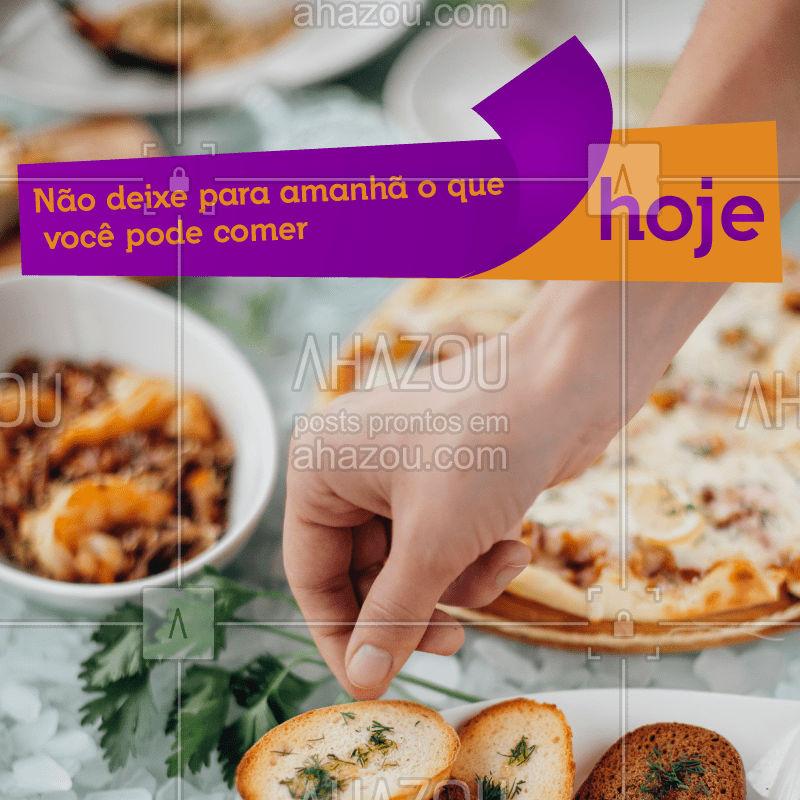 Temos um variado cardápio gourmet. #ahazou #gastronomia #restaurante #ahazoutaste