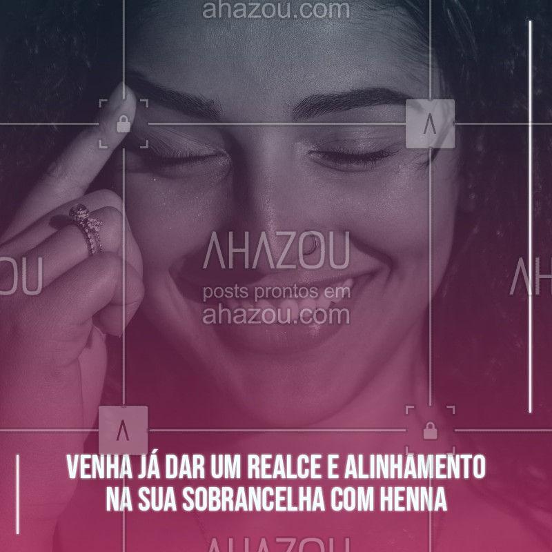 Não perca tempo e agende já um horário para podermos trabalhar o design da sia sobrancelha com henna. Fique ainda mais linda e charmosa.  #henna #AhazouBeauty #designdesobrancelha #sobrancelha