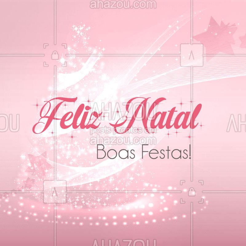 Natal é tempo de espalhar o amor e semear a esperança. Tenha um Feliz Natal!#FelizNatal #ahazou #FelizAnoNovo