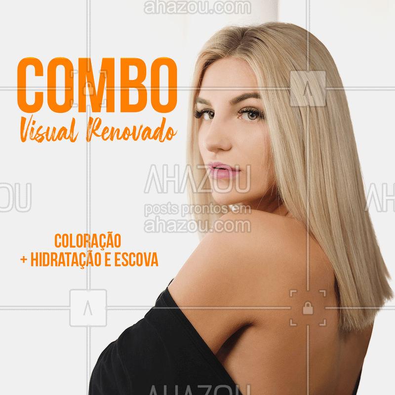 Aproveite essa promoção e renove seu visual! Corre pra garantir seu horário ☎️ #promoção #ahazou #cabelo #hidratação #escova