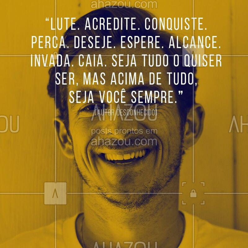 Seja sempre você! #barbearia #ahazoubarbearia #felicidade #motivação