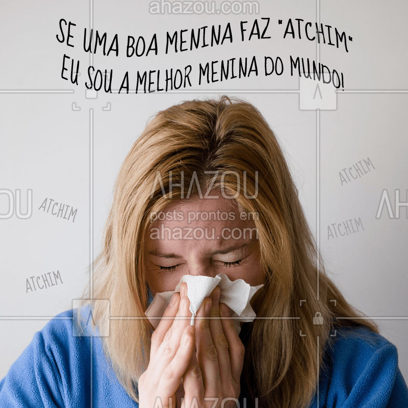 Quem diria que a alergia faria de mim uma boa pessoa?! HAHA ? #boamenina #goodgirl #luisasonza #trendotpics #song #music #brazilianway #engraçado #ahazou #alergia #girl #braziliangal #haha #funny #fun #smile #atchim