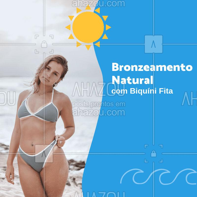 Venha ficar pronta para o verão! #bronzeamentonatural #ahazou #bronze #calor #verao