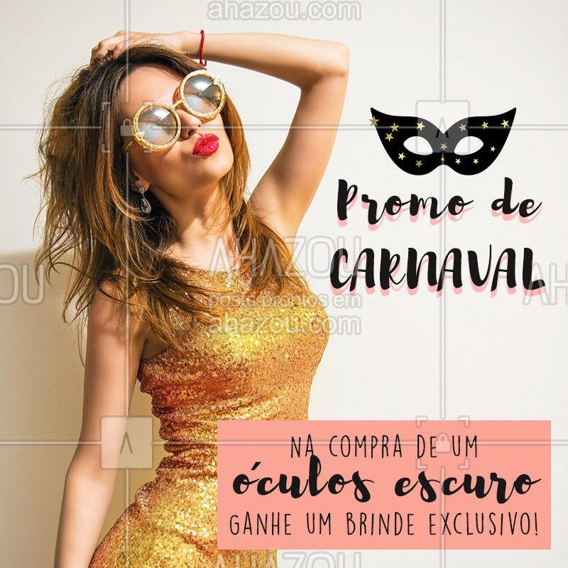 Pra sair arrasando nos bloquinhos! ?#moda  #loja  #acessorios  #beleza  #ahazou #look #carnaval