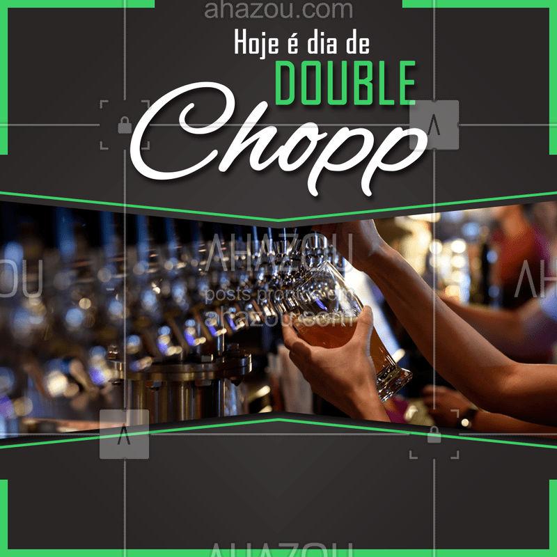 Venha aproveitar nosso Happy Hour, toda quarta e quinta você pede um chopp e ganha outro na faixa. Chame seus amigos do trabalho e venha se divertir com a gente. #happyhour #ahazou #amigos #chopp