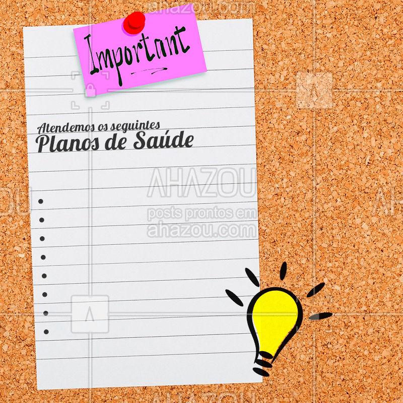 Eu quero te ajudar na sua qualidade de vida, por isso atendo uma ampla variedade de planos de saúde. ? Marque a sua consulta: (contato).  #AhazouFono #AhazouSaude #Saúde #BemEstar #QualidadedeVida #PlanosdeSaúde #Fono #Fonoaudiologia