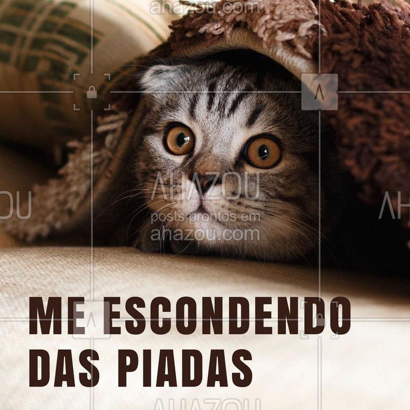 Tentando sair ilesa nesse 1 de abril #1deabril #ahzou #escondidinha