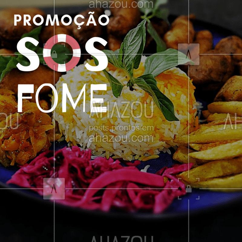 Preparamos uma promoção para resgatar você da fome! ? #fome #ahazoutaste #gastronomia #comida