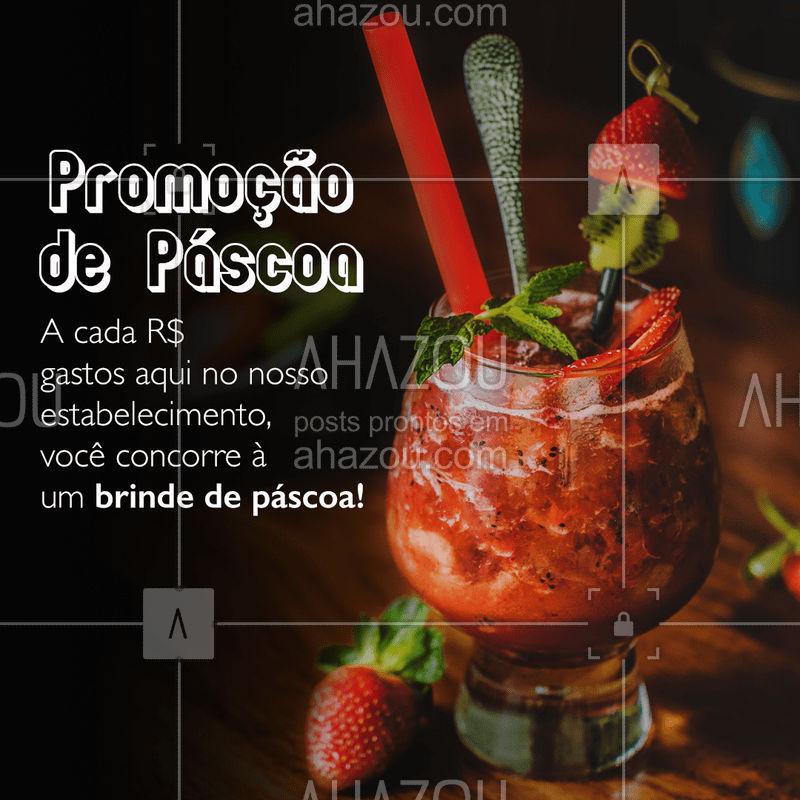 Uma promoção que enche nossos corações de alegria nessa Páscoa ? Aproveite e participe!  #food #ahazoutaste #delicia #pascoa #promocao