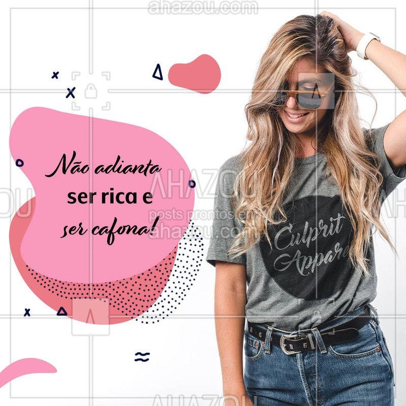 Pronto, falei! ? #moda #fashion #AhazouFashion  #style #lookdodia #frasesdemoda #engraçado