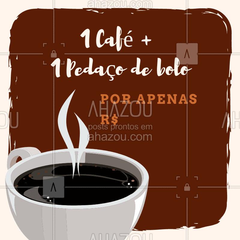 Aproveite essa promoção e venha nos fazer uma visitinha! #café #promoção #ahazou