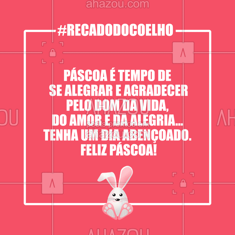 Uma feliz Páscoa a todos! ? #pascoa #ahazou #felizpascoa #ahzpascoa
