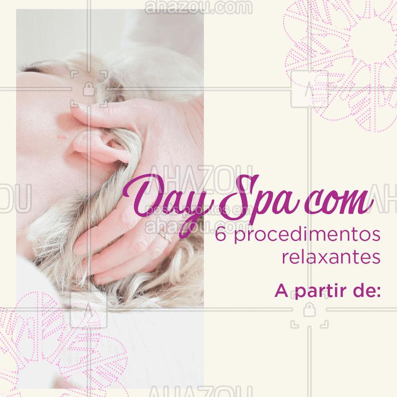 Aproveite esta promoção e venha relaxar! #spa #ahazou #cuidados #promocao #bonita