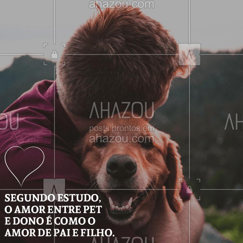 Nossos estudos comprovam que pai de pet, também é pai!  #Pai #AhazouPet #Pet
