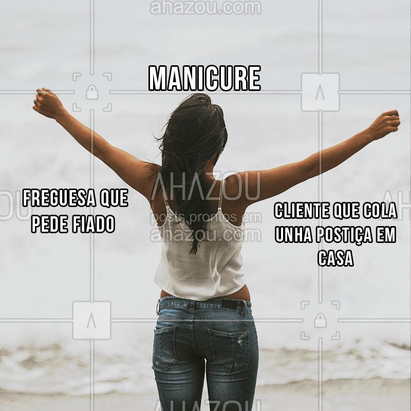 Quem mais se identifica? hahaha  #fun #funny #risadaria #profissoes #meme #ahazou #estetica #braziliangal #bandbeauty  #manicure