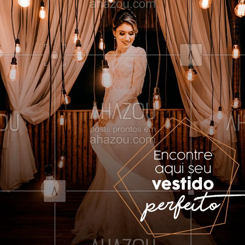 Temos o vestido perfeito para você! ??#noivas #vestidosdenoiva #ahazou #moda #bandbeauty