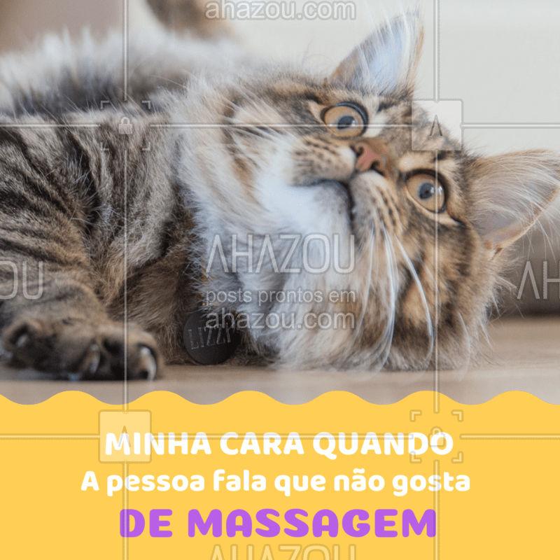 Oi? Você é humano(a)? ?? #massagem #massoterapia #ahazou #engraçado