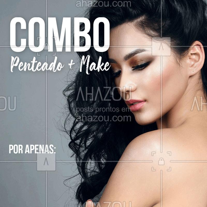 Corre aproveitar essa promo especial ? Agende seu horário! #promoção #lindaemdobro #cabelos #ahazou