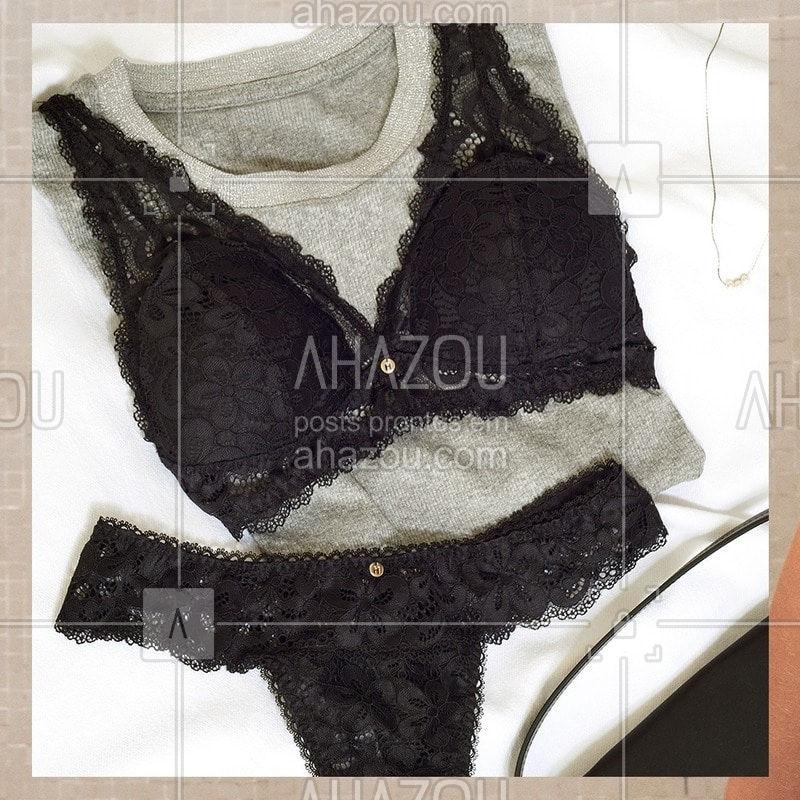 Nos encantam pensar em lingeries que se tornam protagonista dos seus looks ? ⠀ #HOPE #HOPELingerie #ahazourevenda #ahazouhope